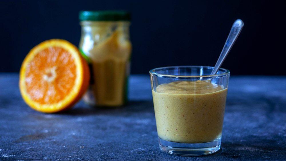 sos musztardowo-pomarańczowy
